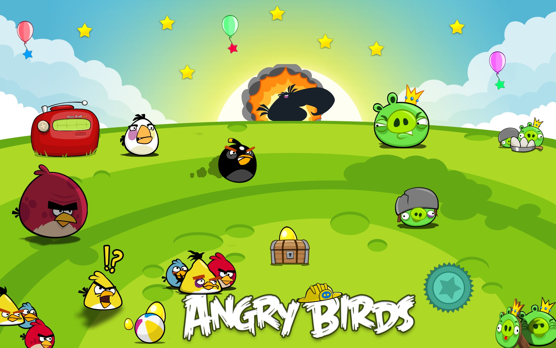 Angry Birds HD Wallpapers 4