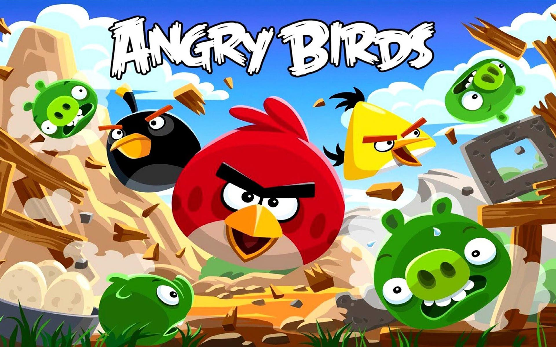 Angry Birds HD Wallpapers 26