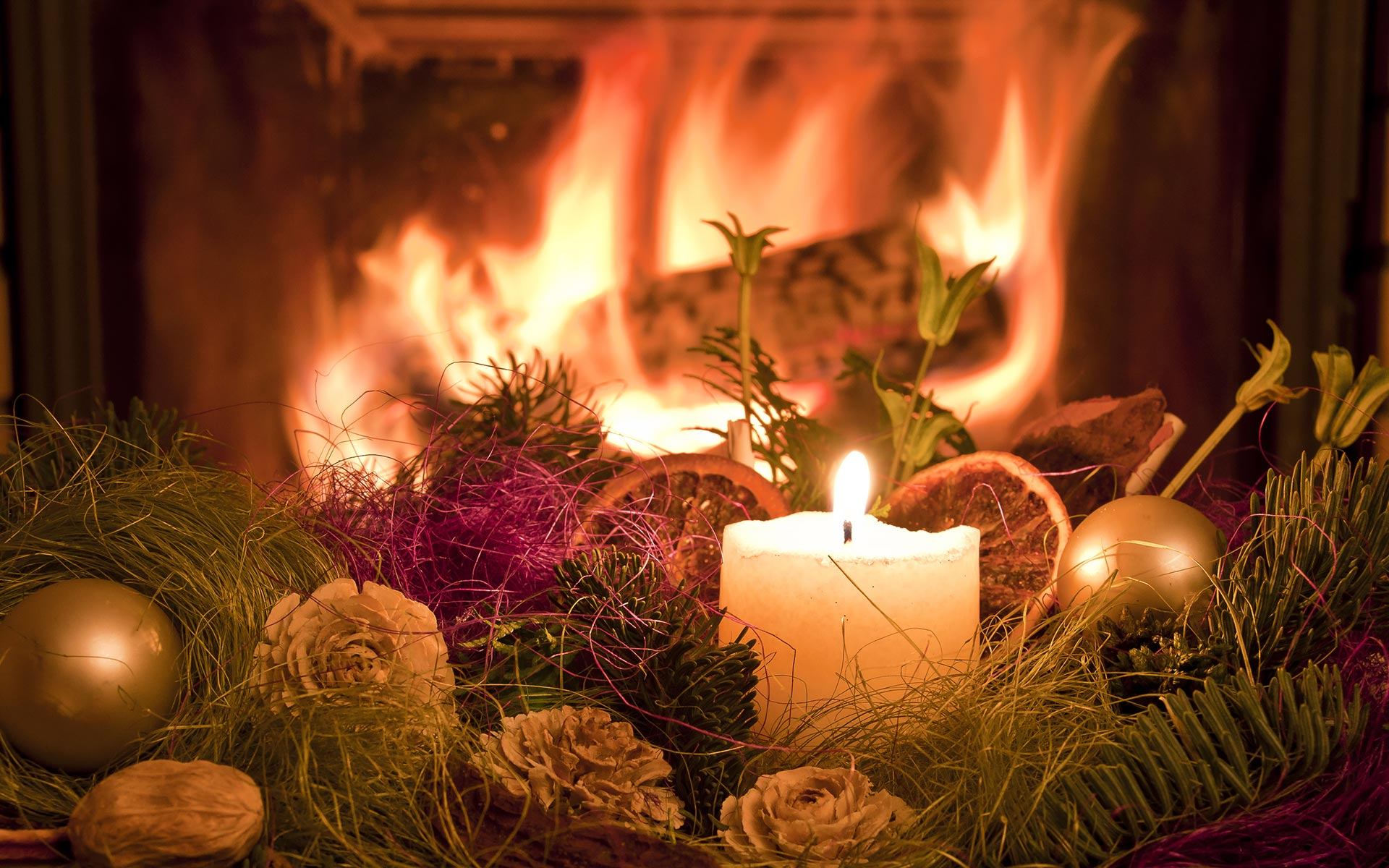 Fireplace Hd Wallpapers