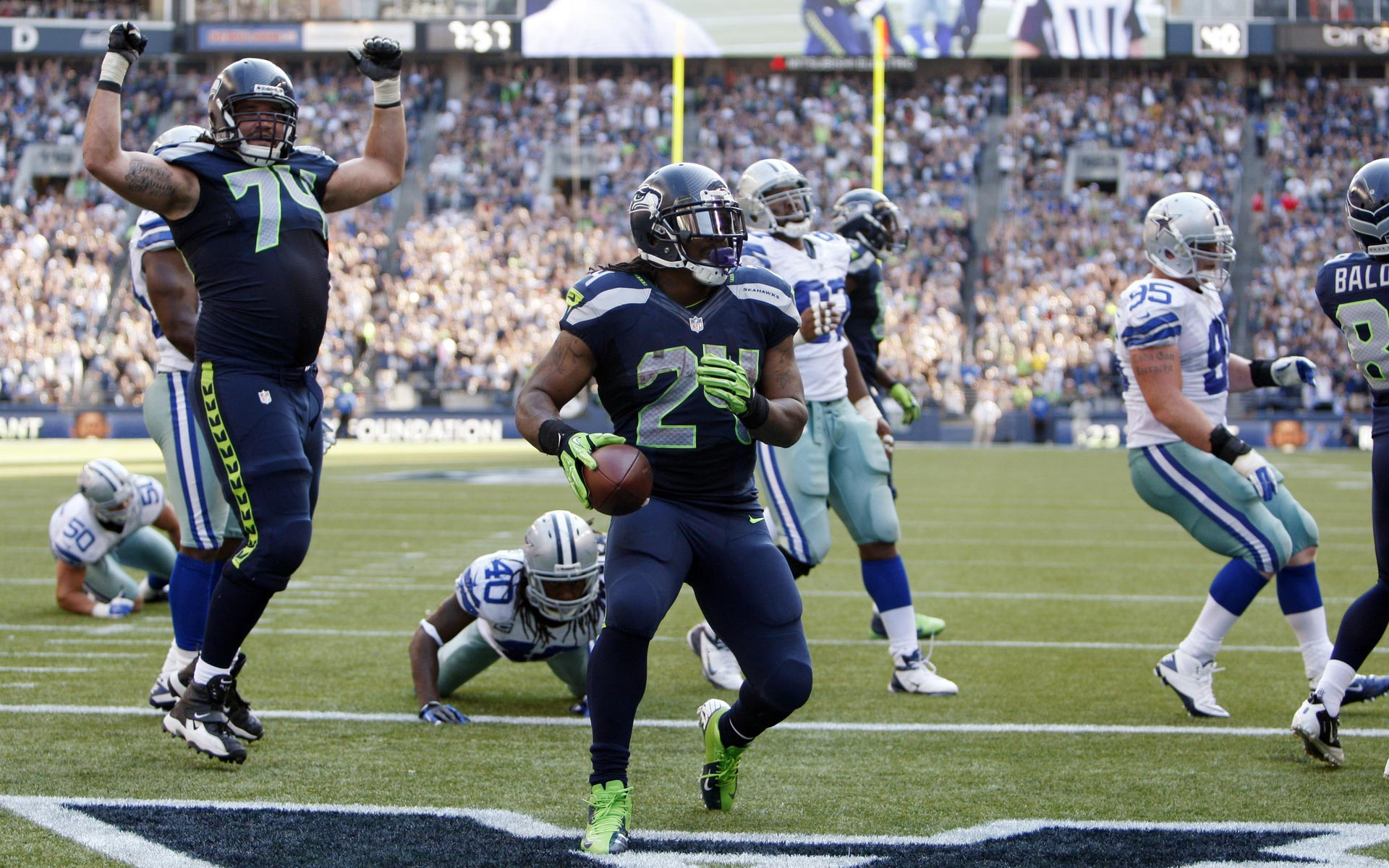 Fonds d'ecran de Seattle Seahawks 2